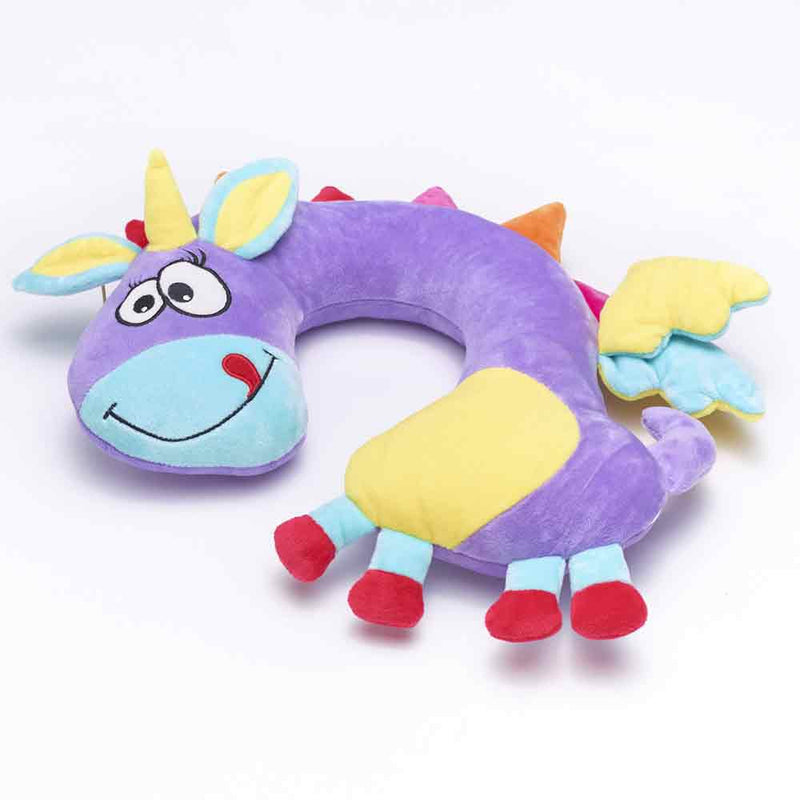 Mario The Unicorn Travel Neck Pillow