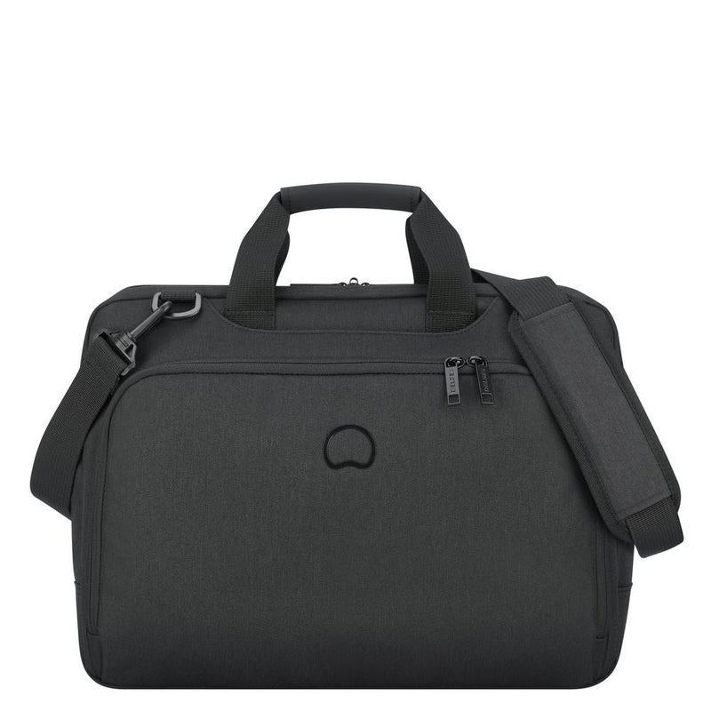 ESPLANADE 2-cpt satchel - pc protection 15.6""