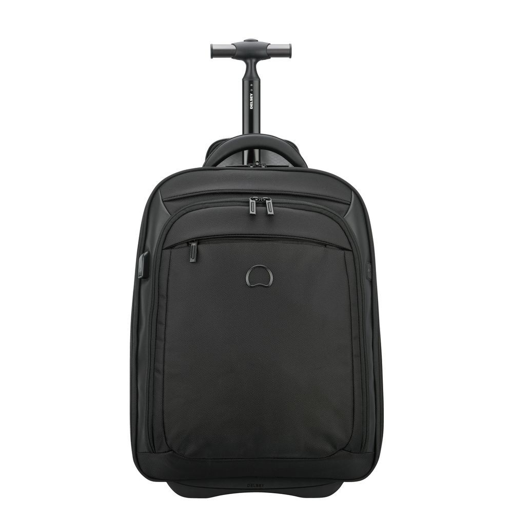 QUARTERBACK PREMIUM 2-cpt expandable cabin wps trolley backpack - pc protection 17.3