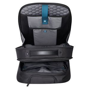 QUARTERBACK PREMIUM 2-cpt expandable cabin wps trolley backpack - pc protection 17.3""