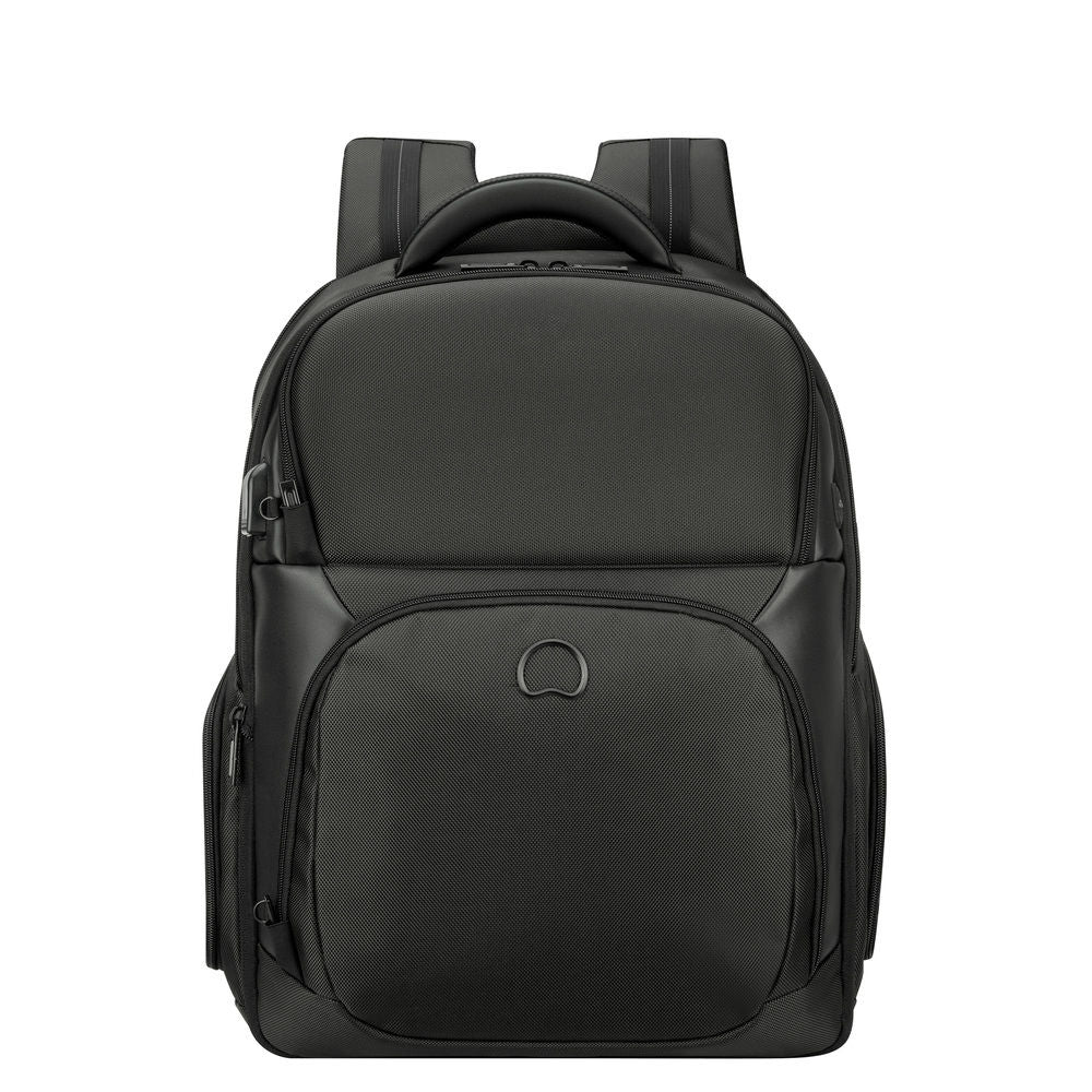 QUARTERBACK PREMIUM 2-cpt expandable backpack s size - pc protection 17