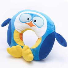 Load image into Gallery viewer, Puffy the Penguin Travel Neck Pillow