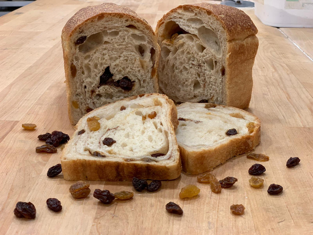 Cinnamon Raisin Sandwich Sourdough