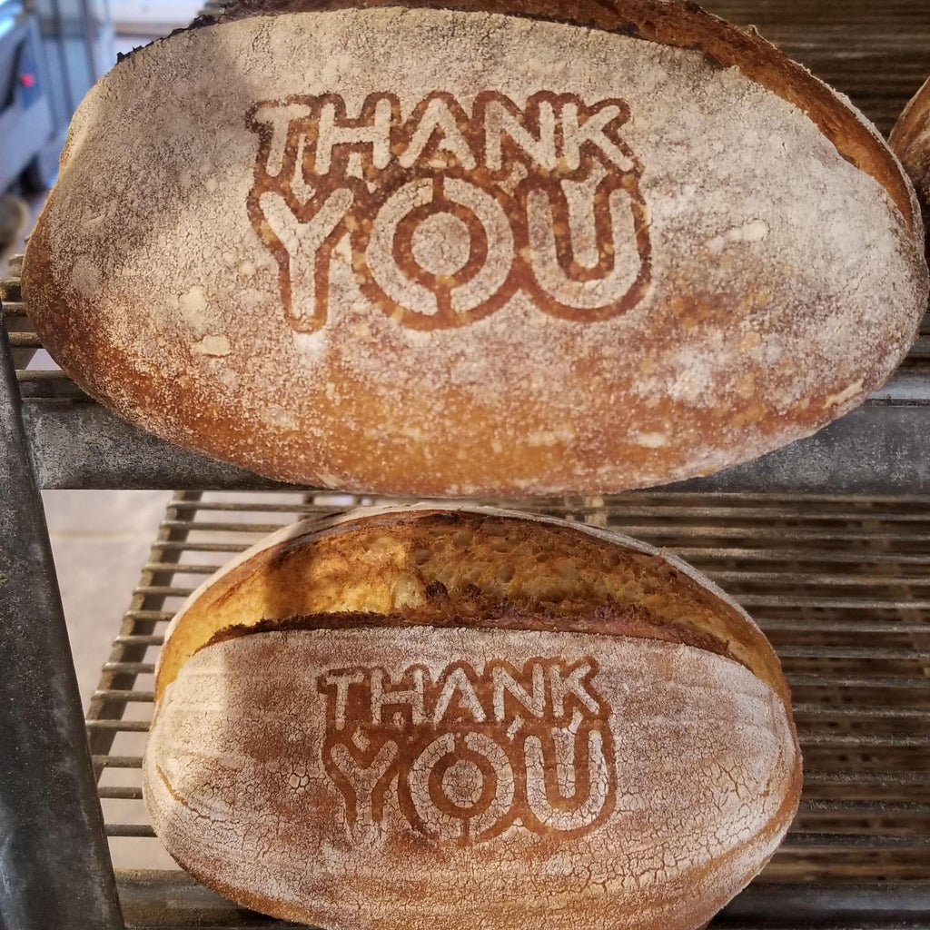 Thank You Bread Stencil