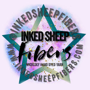 Inked Sheep Fibers