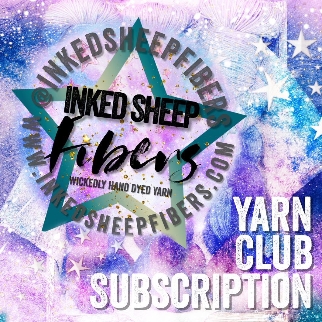 Inked Sheep Yarn Club Subscription
