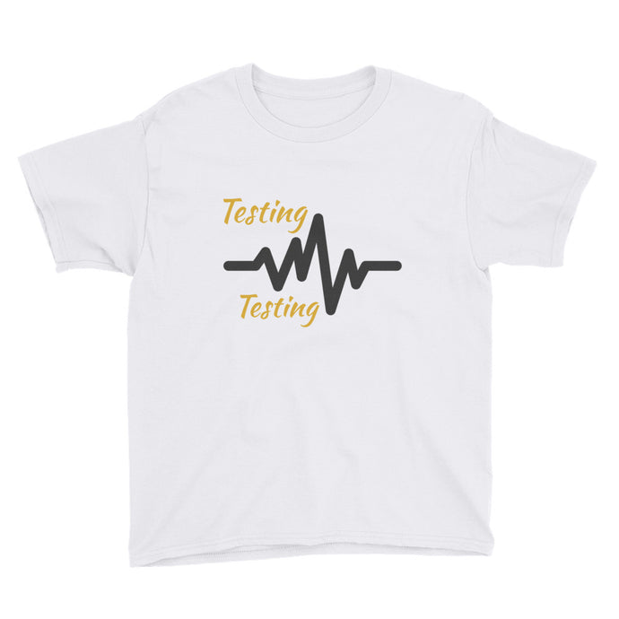 Testing, Testing - Is this thing working? Kids T-Shirt