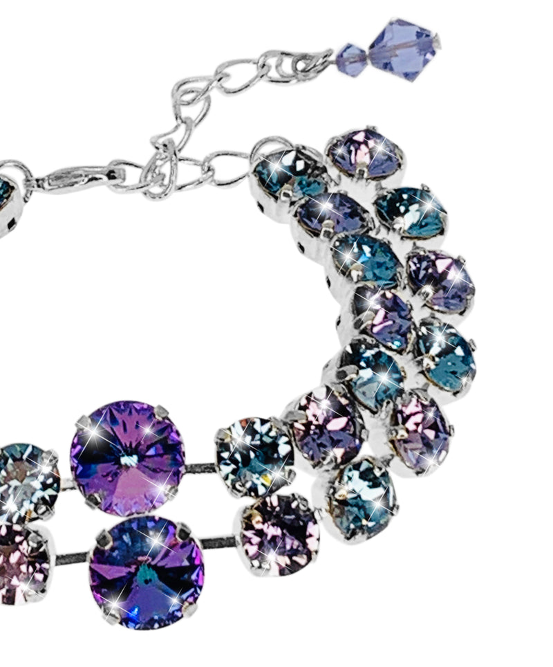 SPECTACULAR BRACELET - Right Hand View - Fully Adjustable Sizing.