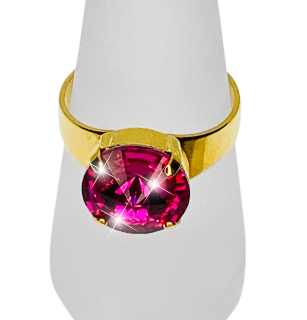 FAVOURITE RING Full Front View - Fully adjustable size