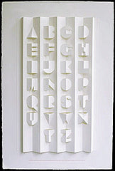 Alphabet II Poster - Signed by Ron King