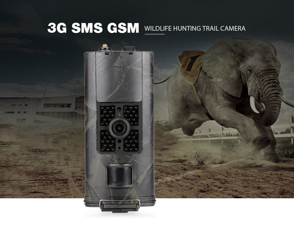 Camera de chasse Infrarouge  3G SMS GSM 16MP 1080P