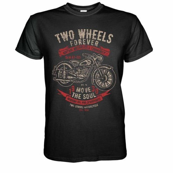 Vintage Motorcycles T-Shirt - Swag Vikings