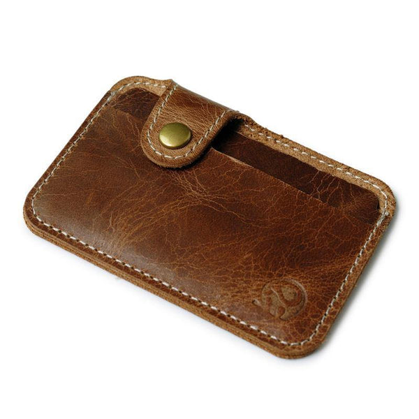 Classy Retro Genuine Leather Card Holder - Swag Vikings
