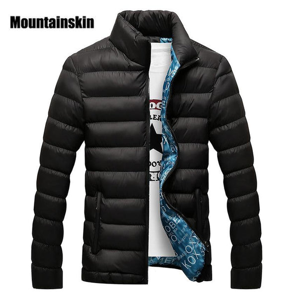 Big Size Men's Padded Jacket - Swag Vikings