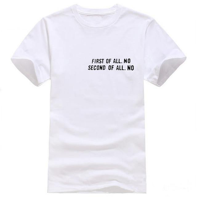 Cool Quote O-Neck T-Shirt - Swag Vikings