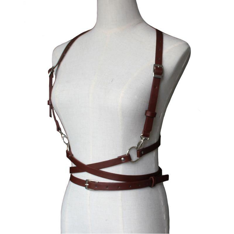 Handmade Leather Harness - Swag Vikings