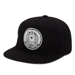 3D God's Eye Cotton Snapback - Swag Vikings