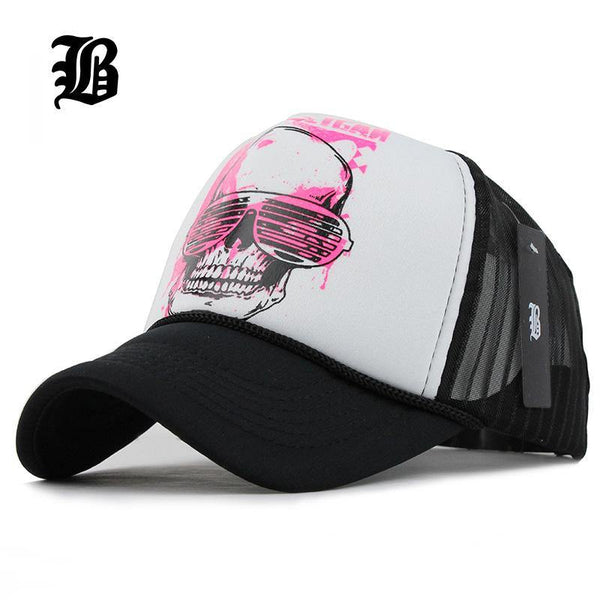 Adjustable 5 Panel Mesh Baseball Cap - Swag Vikings