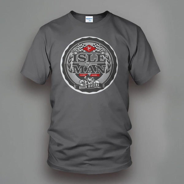Isle of Man Motorbike T-Shirt - Swag Vikings