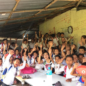 New charity recipient: 'I See I Do' Program in Cambodia