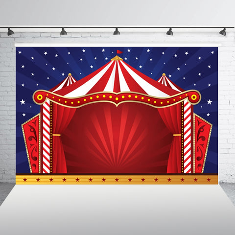 Image of Circus Tent Illustration. FREE SHIPPING!