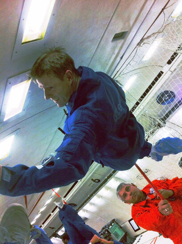 in Zero Gravity with the European Space Agency