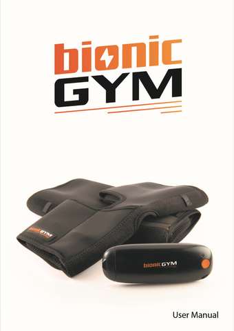 BionicGym Manual Rev002