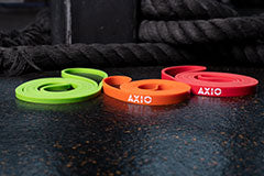 AXIO INFINITY BANDS - 3 PACK (Green, Orange and Red)