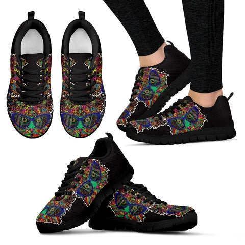 Cats glasses Women's Sneakers