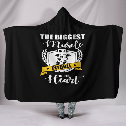 NP Pitbull Hooded Blanket