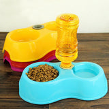 Dual Port Pet Bowl Automatic Water Dispenser - Kitty Puppies