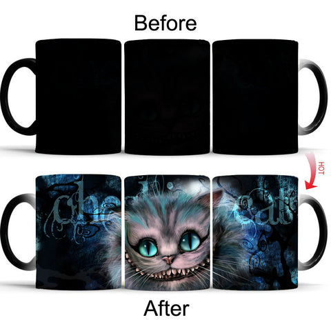 Magical Color-Changing Mug - Kitty Puppies