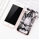 Cute Animal Painted Phone Case - Kitty Puppies