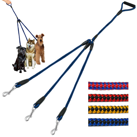 Premium Non-Tangling 3-in-1 Detachable Dog Leash - Kitty Puppies