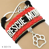 Rescue Dog Infinity Charm Bracelet - Kitty Puppies