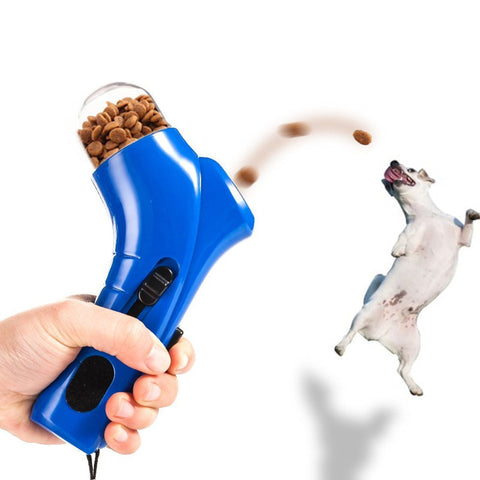 Funny Pet Training Treat Launcher - Kitty Puppies
