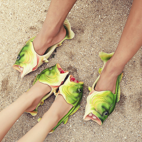 Creative Non-Slip Fish-Shape Sandals - Kitty Puppies
