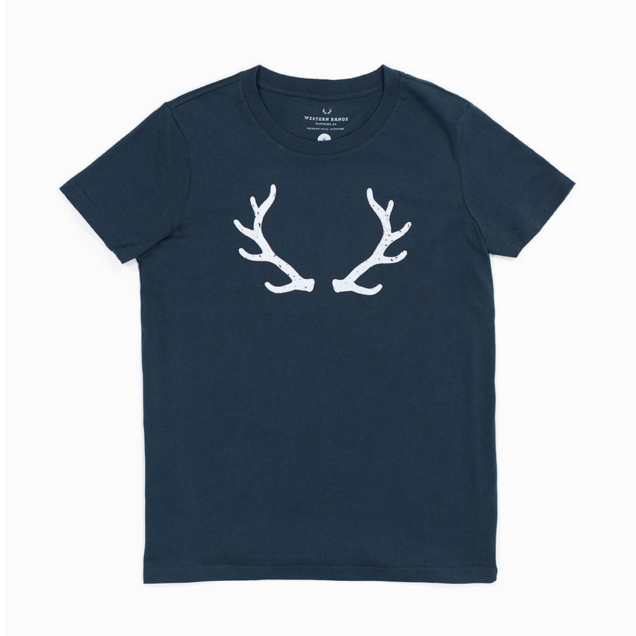 The Antler Tee in Navy