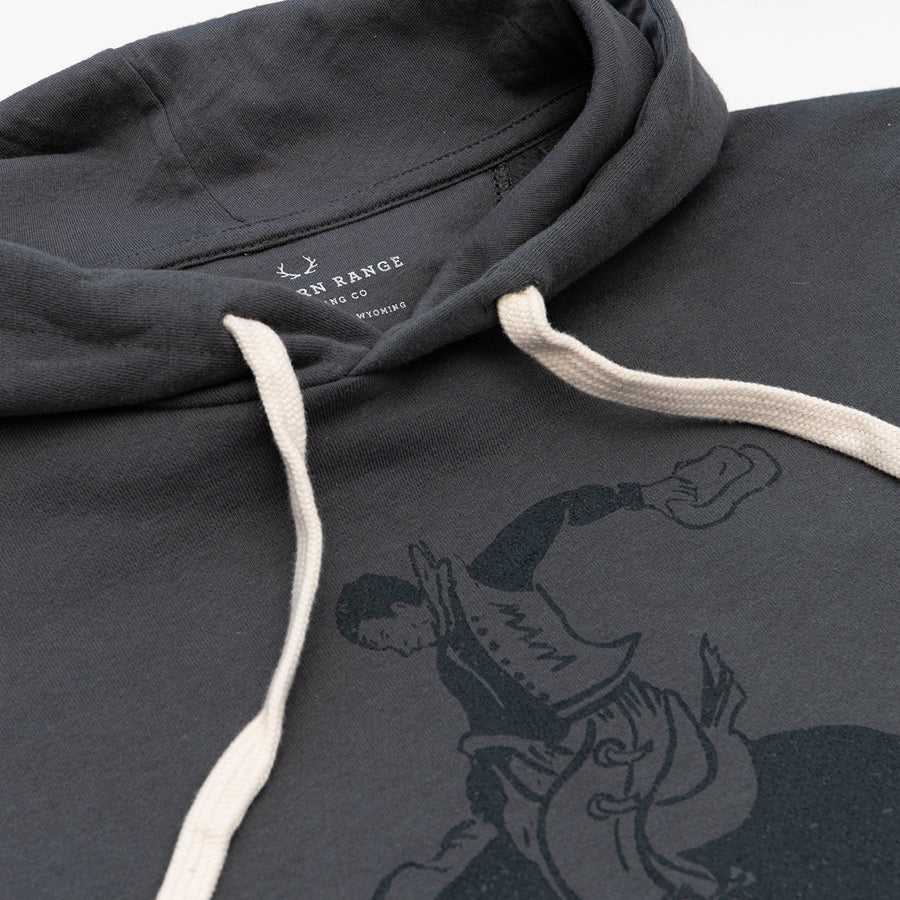 The Cowboy Hoodie in Gray