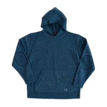 Hoodie Sweater in Glacial Blue