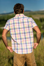 The Short Sleeve Pearl Snap - Madras