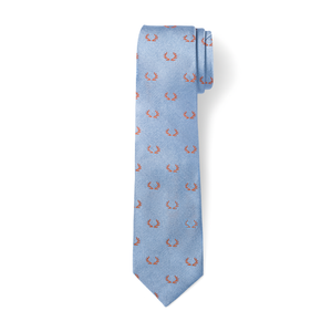 The Antler Tie - Sky with Orange