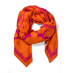 The Range Scarf - Sunset and Berry