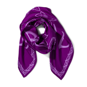 The Range Scarf in Plum