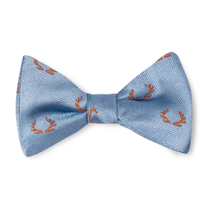 The Boys Antler Bow Tie - Sky with Orange