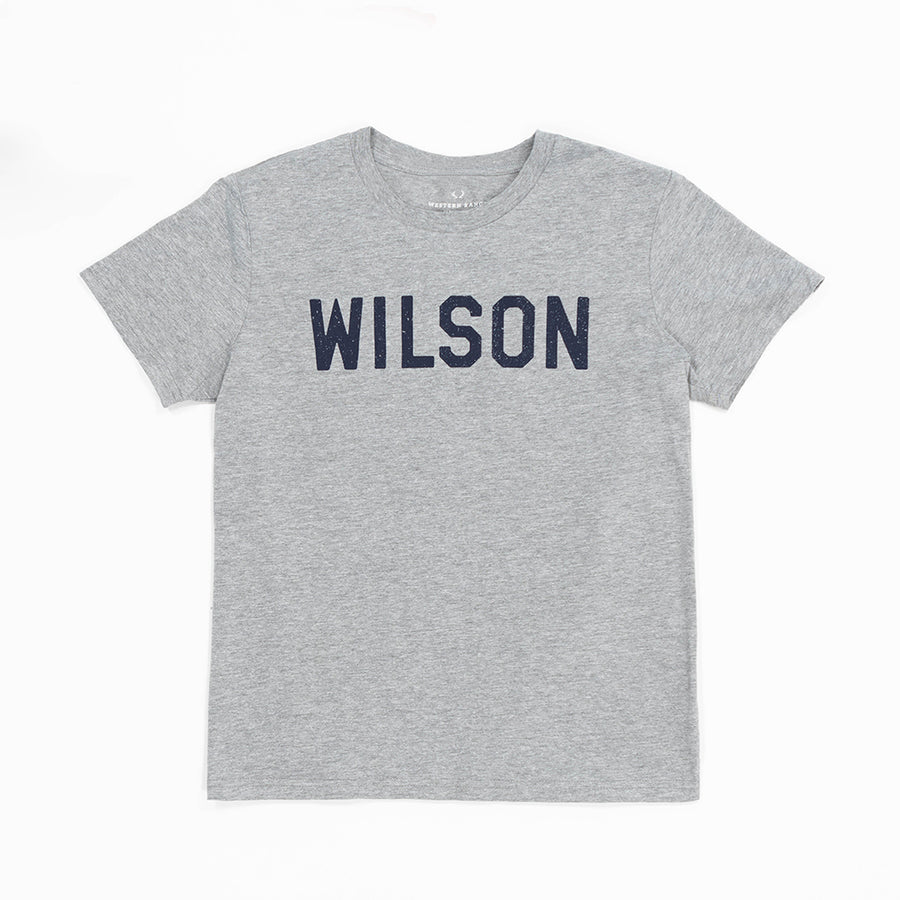 The Wilson Tee in Gray