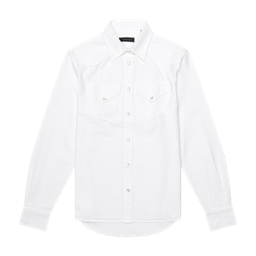The Teton Top in White