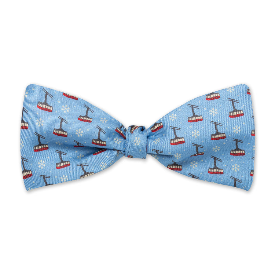 The Tram Bow Tie - Powder Blue