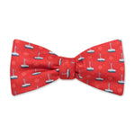 The Tram Bow Tie - Big Red
