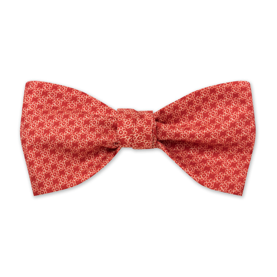 The Vintage Flower Bow Tie - Paintbrush